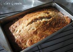 Moist sour cream banana bread