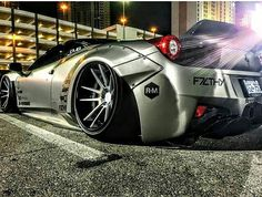 INSANE FERRARI 458 BY LB PERFORMANCE/F7LTHY