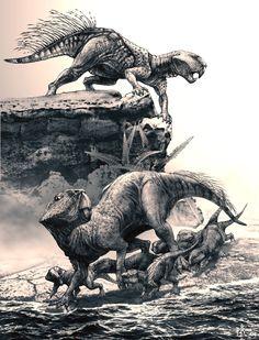 Psittacosaurus (Riha2006) - Dinosauriërs - Wikipedia