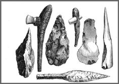 Paleolithic Homo-Erectus Small Stone Tools