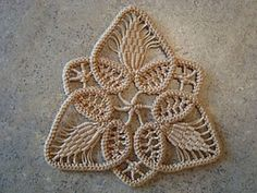 Romanian Point Lace Tutorial / Pattern - Beautiful!