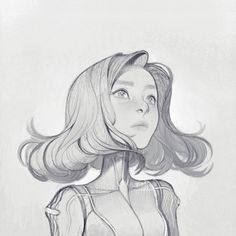 JOY ANG — Originally drawn with a mechanical pencil, then...