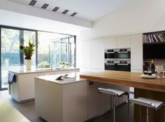Island living, bulthaup kitchen by Kitchen Architecture