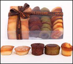 Financiers - Vanilla, Almond, Apricot, Triple Chocolate & Chocolate Pistachio