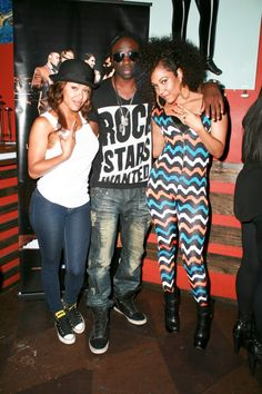 Megan Good, Sam Sarpong, and Lyrica Anderson Celebrity Style Inspiration, Celeb Style, Megan Good, Christmas Sweaters, Cool Style, Celebs, Drop, Outfits, Celebrity