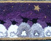 Gazing Woolies Rug Hooking Pattern