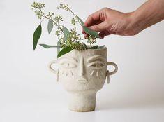 JULIA VASE • Miri Orenstein Pinch Pots, Get It Now, Ceramic Vase, Preserves, Stoneware, Glaze, Ceramics, Pottery Vase, Enamel