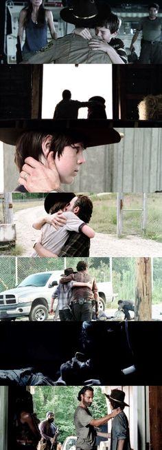 Rick and Carl<<<I'm gonna cry no joke