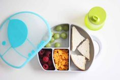 Cute + fun kids lunch box by BOON! We love their no spill sippy cups too!