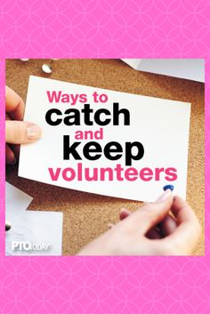 Start working now to recruit  PTO or PTA volunteers for the next school year!