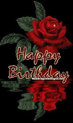 Happy birthday gifs on pinterest glitter graphics happy birthday