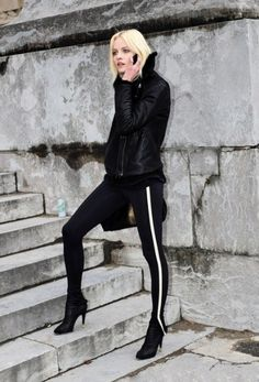sweatpants with heels - Google Search