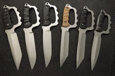 Martin Olexey Blades, LLC Trench knife with a modern twist