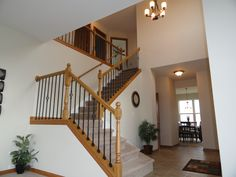 4483 Tampa Dr, Yorkville, IL 60560 - Wrought iron staircase.