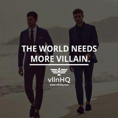 The world needs more villain. #world #luxurylife #lifestyle #vllnhq