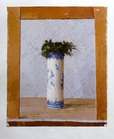 Euan Uglow- simple comp. flower