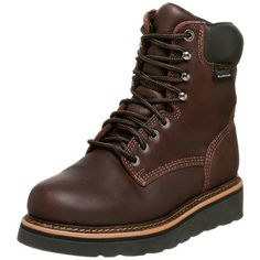 "Golden Retriever Men's 8"" Waterproof Work Boot,Dark Brown Oil Tan,16 M - http://authenticboots.com/golden-retriever-mens-8-waterproof-work-bootdark-brown-oil-tan16-m/"