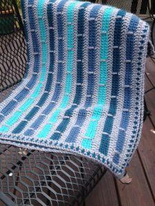 [Free Pattern] Double Trouble Crochet Blanket | Patterns Valley