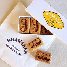 巴裡 小川軒のレイズン・ウィッチ   酒にほどよく漬け込まれたふっくら肉厚なレーズンと、生に近い特製クリームをサクサクのクッキーにはさんだ元祖「レイズン・ウィッチ」。Ogawaken cookies  #sweets #event