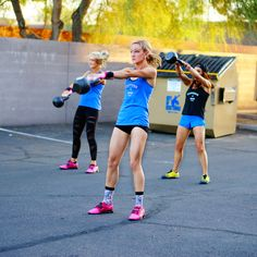 Will Crossfit make girls bulky, manly or bigger? These Crossfit girls are proof that strength comes in all sizes and that Crossfit is for anyone.