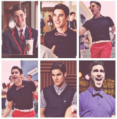 The many faces of Blaine (Warbler) Anderson