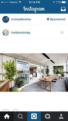 Outside area inspiration. Backyard Designs, Outdoor Living, Outdoor Decor, Herb Garden, Cruise, Gardens, Herbs, Wall, Inspiration