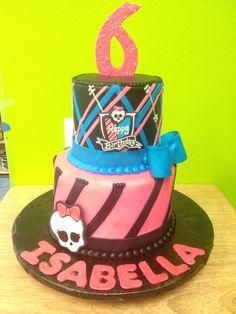monster high kids cake