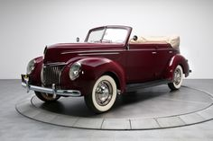 1939 Ford Convertible offered for auction | Hemmings Motor News
