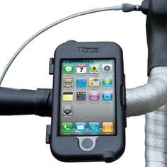 iPhone Bike mount, safety first