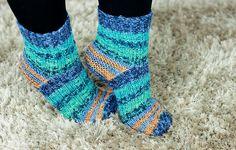 Kuschelweiche Selbstgestrickte Socken