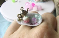 @Laura Weed !!!!!!!    Fairy Tale Tea Party Ring by The Mouse Market