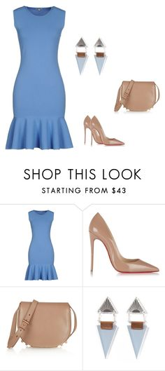 """""""Untitled #46"""" by wmaria ❤ liked on Polyvore featuring P.A.R.O.S.H., Christian Louboutin, Alexander Wang, women's clothing, women's fashion, women, female, woman, misses and juniors"""
