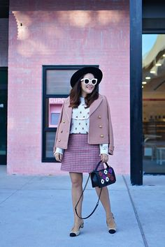 History In High Heels: Remixing Pink + Burgundy