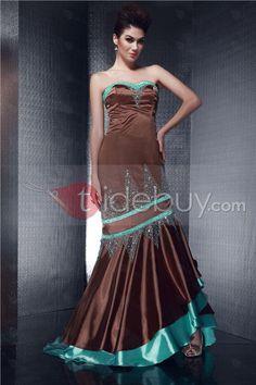 Mermaid/Trumpet Sweetheart Aaymmetry Beaded Olga's Evening Dress