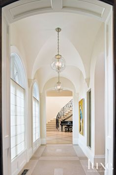 Vaulted Ceiling Wall Decor New Traditional White Foyer with Groin Vaulted Ceilin. Vaulted Ceiling Wall Decor New Traditional White Foyer with Groin Vaulted Ceilin… Vaulted Ceilin Entryway Chandelier, Entryway Lighting, Entryway Decor, Ceiling Chandelier, Vaulted Ceiling Lighting, Ceiling Decor, Wall Decor, Ceiling Ideas, Vaulted Ceilings