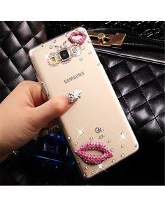Etui Diamond Lips do Samsung Galaxy J3 2016