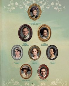 Downton family tree