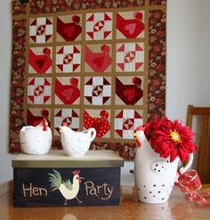 * Sew we Stitch: Guest #52 Calling all chicks with Deonn to a HEN PARTY!!