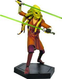 Gentle Giant Star Wars: The Clone Wars: Kit Fisto Animated Maquette. #Starwars #Statue #Figures #Gosstudio