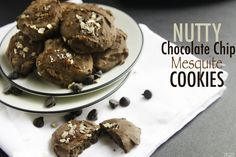Post workout cookies? ‪#‎YesYouCan with these babies, chock full of good for you ingredients to help refuel!   Nutty Chocolate Chip Mesquite Cookies from LINDSAY OF COTTER CRUNCH