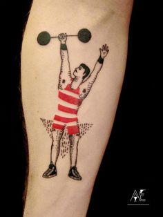 Tatuagens minimalistas por Axel Ejsmont