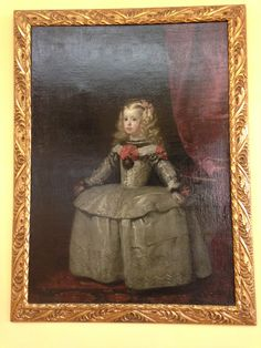 For art history buffs--I was going through the Lobkowicz Collection in Prague Castle only to find this Velazquez painting. I had never seen one of his works in person before, so I was very excited!