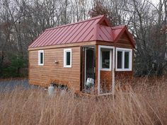 Well made informative video......School Teacher's Tiny House On Wheels with a Passive Solar Foyer (small home)
