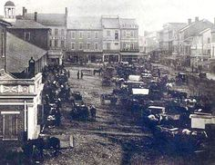 1850 Market Street Nashville, TN This is the oldest known picture of Nashville, TN.