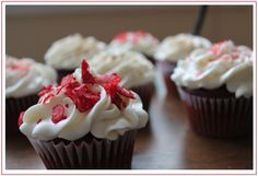 Fireball Cupcakes | Spice Up Valentine's Day | Our Rambling House Beautiful Cupcakes, Love Cupcakes, Red Velvet Cupcakes, Wedding Cupcakes, Fireball Cupcakes, Apple Pie With Cheese, Food For The Gods, How Sweet Eats, Holiday Time