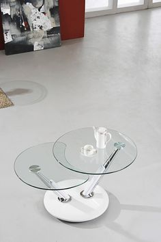Exclusive Cosmo Chrome Finish And Tempered Glass Lamp Table  Http://www.furniturecountrywide.co.uk | Living Room Furniture | Pinterest |  Lamp Table, ...