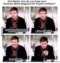 Funny pictures about Bilbo Baggins Inspiring Kids Around The Globe. Oh, and cool pics about Bilbo Baggins Inspiring Kids Around The Globe. Also, Bilbo Baggins Inspiring Kids Around The Globe photos. Johnlock, O Hobbit, Hobbit Funny, J. R. R. Tolkien, Mrs Hudson, Into The West, Bilbo Baggins, Fandoms, Raining Men