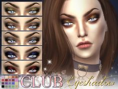 New eyeshadow for your sims!  Found in TSR Category 'Sims 4 Female Eyeshadow'