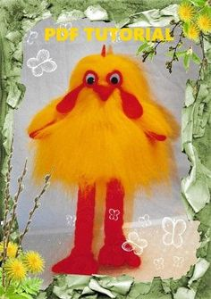PDF pattern Cockerel Soft Toy PDF Pattern rooster ornament