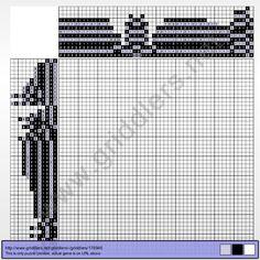 Griddlers Puzzle 176946 Rib Vault in Teltsch (Czech Republic)